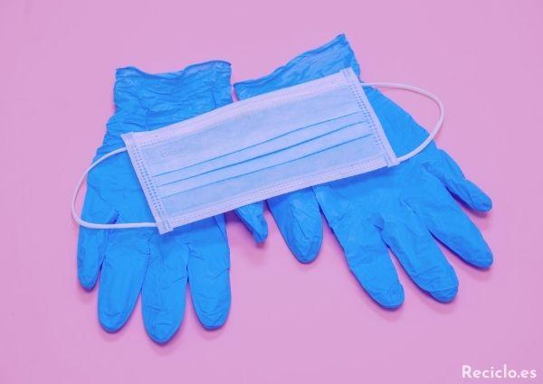 ¿Donde tirar las mascarillas y guantes usados?