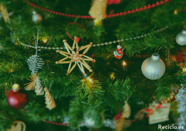 árbol de navidad reciclado manualidades