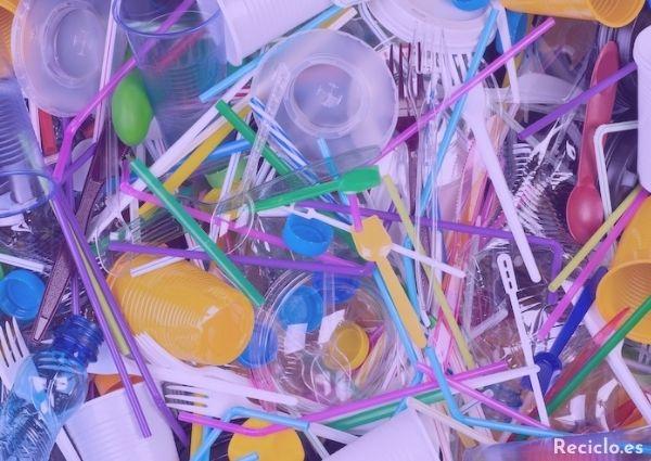 Plásticos de un solo uso prohibidos en 2021